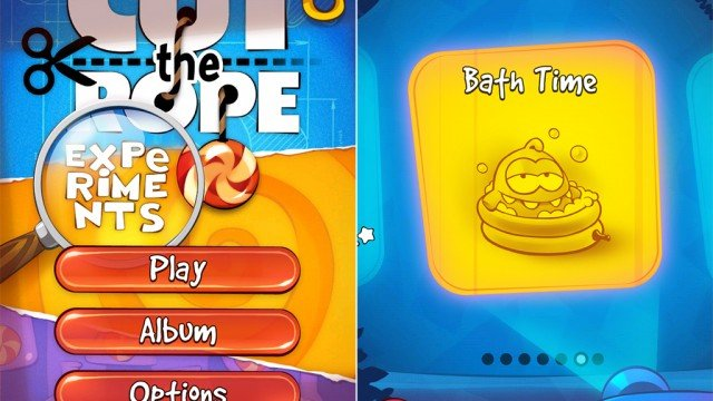 Help Make Things Go Swimmingly In The Latest Update To Cut The Rope: Experiments