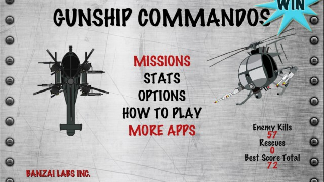 A Chance To Win Gunship Commandos For iPhone And iPad