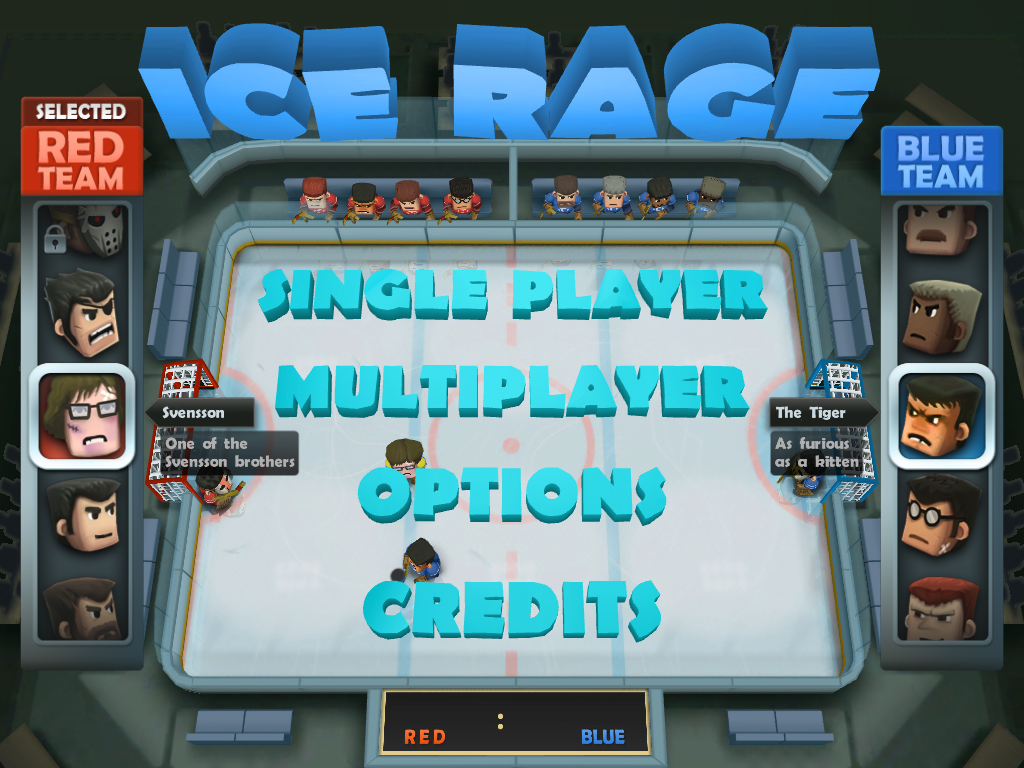 Ice Rage Adds Another To The Roster, Gains iCade Support, And Includes Overall Improvements