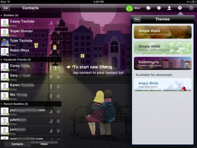 IM+ Supports New Social Networks And Languages, Plus Gets Inovled In The Valentine's Love Fun