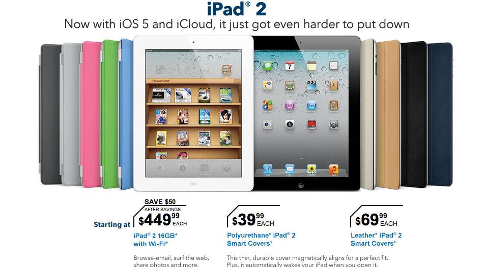 The iPad 2: Thinner, Lighter, Faster ... Now Cheaper