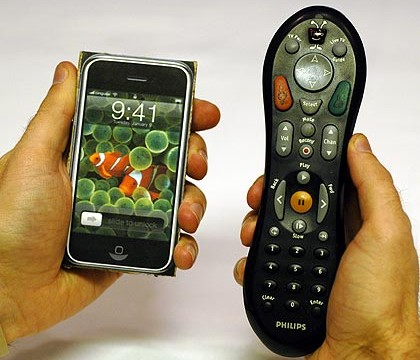 "Apple's Universal Remote Control Patent Rushes The ""iTV"" Rumor Mill"