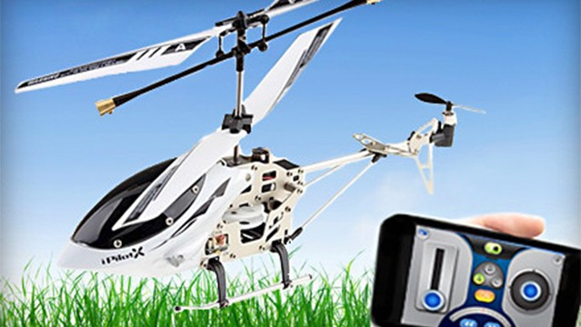 Today's Groupon Deals Features A Great Sale On An App-Controlled Helicopter