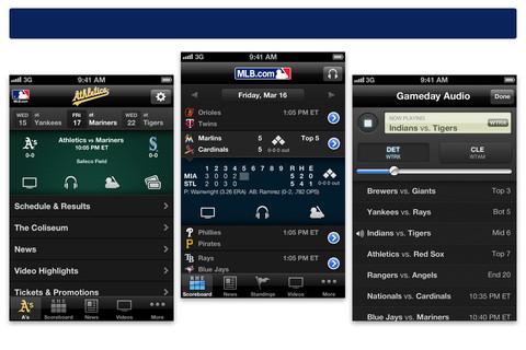 MLB.com At Bat 12 - On iPhone