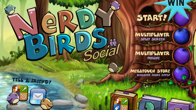 A Chance To Win Nerdy Birds Social HD For iPad