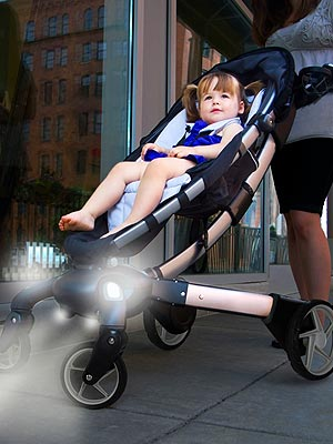 The Origami Stroller It Charges Your Iphone And Much More