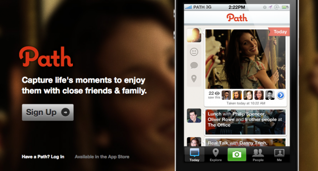 Path Wants To Kiss And Make Up