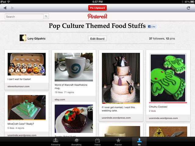 When Will The iPad See Some Pinterest Love?
