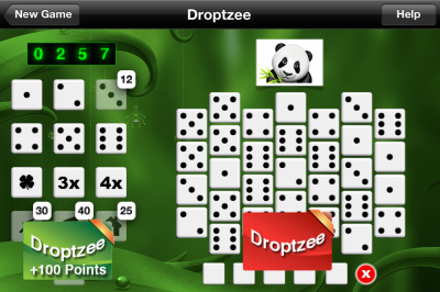 Yahtzee Meets Matching Games With Droptzee, But You Have To Play Alone If You Want To Play For Free