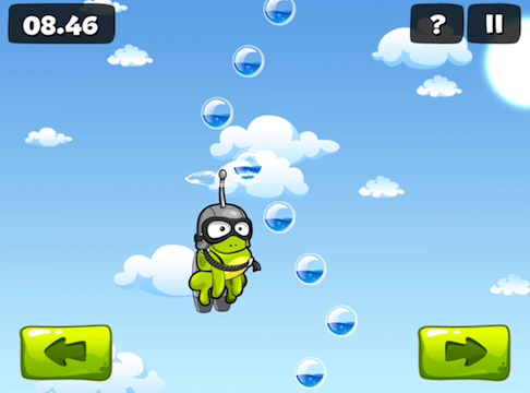Amphibian Tap App Found In Tap The Frog 2
