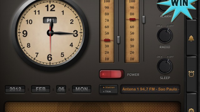 A Chance To Win Radio Alarm Clock For iPhone And iPad