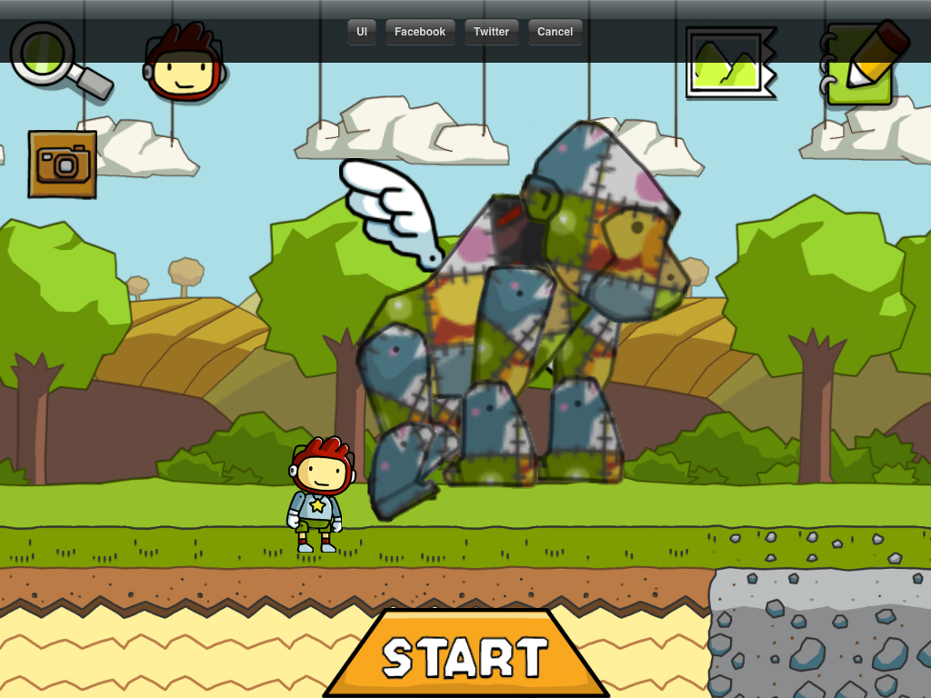 Easily Share Those Ingenious Scribblenauts Remix Creations With Scribble Pics