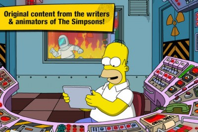 The Simpsons Tapped Out Released In The Canadian App Store
