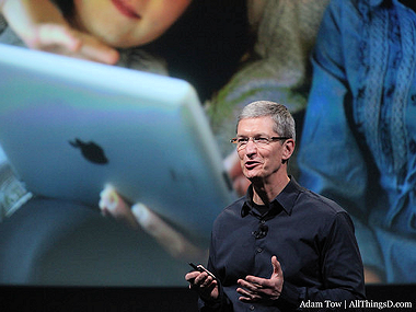 Tim Cook Spends As Much Time On His iPad As The Rest Of Us
