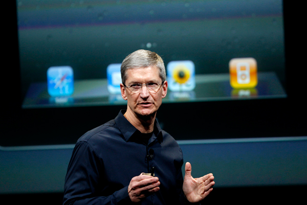 Tim Cook Opens Up During Apple Shareholders Meeting