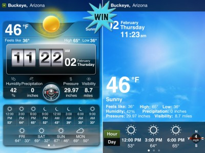 A Chance To Win Weather Live For iPhone And iPad