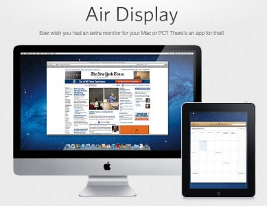 Displaying Soon: Air Display Update For The New iPad's Retina Display