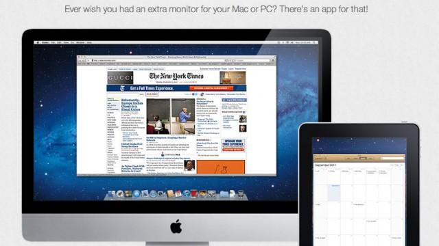 Displaying Soon: Air Display Update For The New iPad's Retina Display