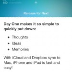 Another Day, Another New Update For Day One Journal App