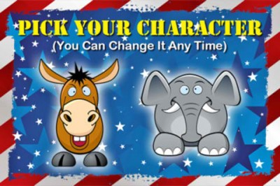 Are You A Democratic Donkey Or A Republican Elephant?