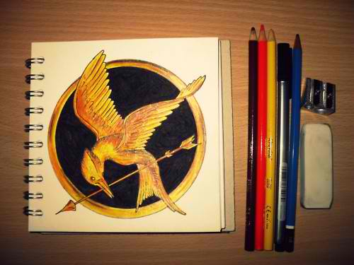 As The Hunger Games Film Draws Moviegoers, Draw Something Draws The Hunger Games