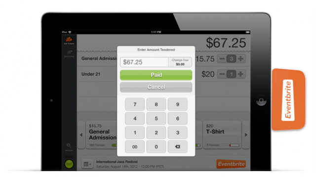 Credit Card Processing On The iPad Is The New Black... Amirite, Eventbrite?