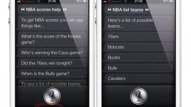 Jailbreak Only: SiriNBA - Get Your NBA Fix Using Siri
