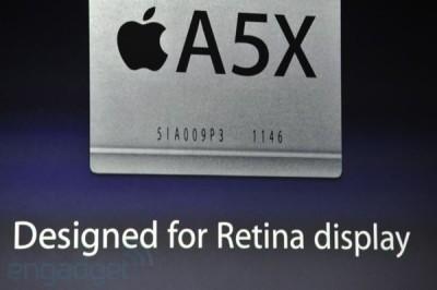 """You Got It - Apple's New iPad Sports An """"A5X"""" Processor"""