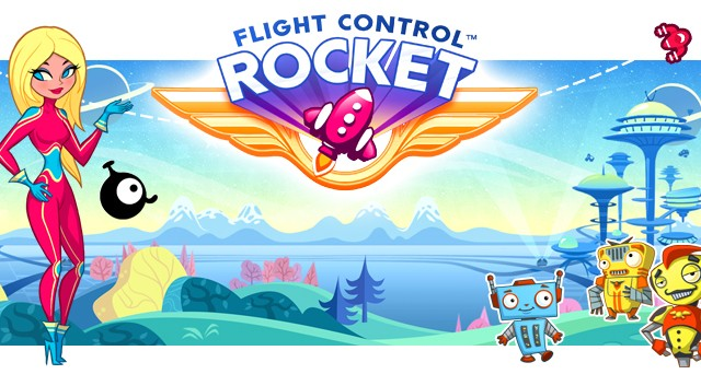 Firemint Announces New iOS Game: Flight Control Rocket