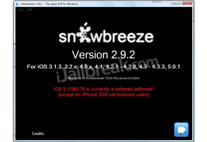 Jailbreak Only: Sn0wBreeze Updated - Adds Support For iOS 5.1
