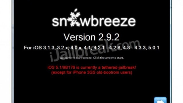 Jailbreak Only: Sn0wBreeze Gets Another Update - Adds Support For Apple TV