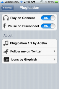 Jailbreak Only: Plugication - Resume Music Upon Connecting Headphones To Your Device