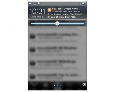 Jailbreak Only: ActionSlider - Perform A Number Of Actions From Notification Center