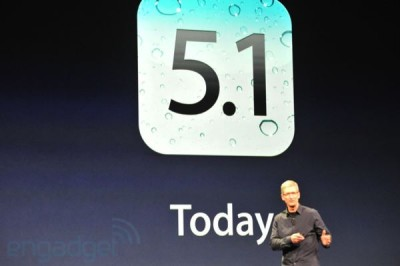 It's Been A While, But Apple Has Finally Announced iOS 5.1