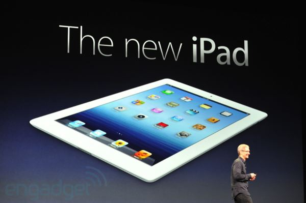 Apple's Brand-New iPad Features A Beautiful Retina Display