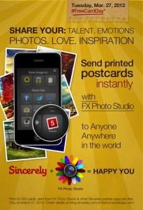 FX Photo Studio Spreads Some Postcard Lovin' Around The World For Free