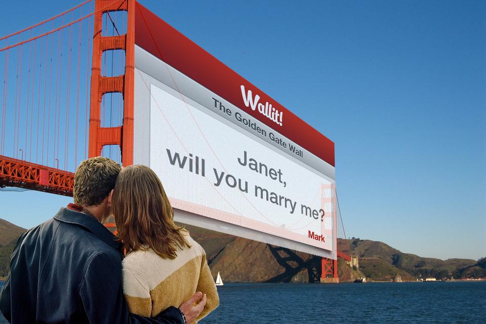 WallitApp Encourages You To Write On Walls