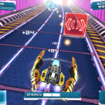 Futuristic Ion Racer Zooming Towards The App Store At Full Throttle