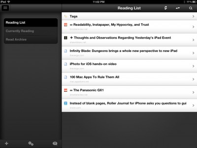 Read It Later Update Brings Retina-Ready Visuals