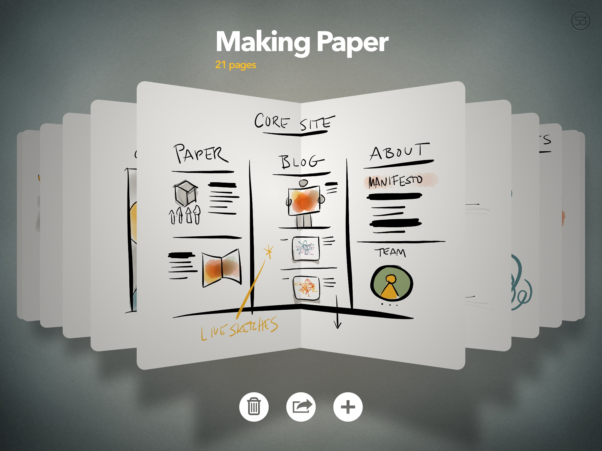Paper Gets Reimagined By The Folks At FiftyThree