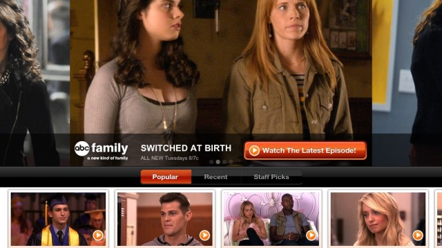 ABC Family Comes To The iPhone, iPod Touch, and iPad