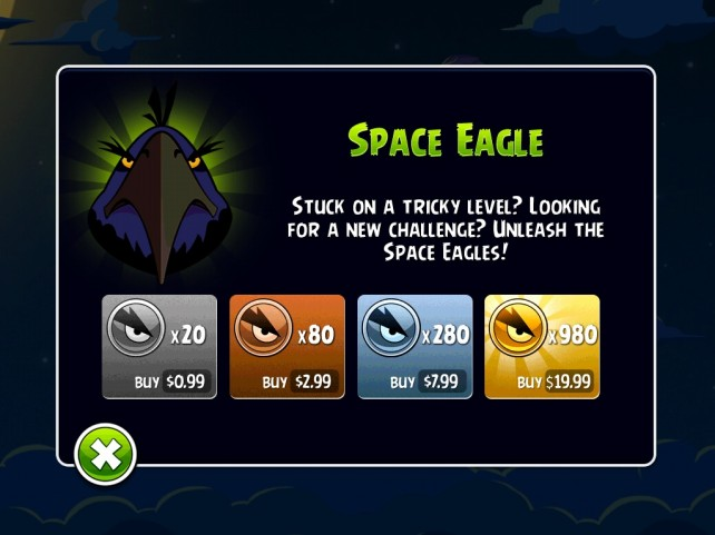 Angry Birds Space - Eagle