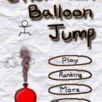 Quirky App Of The Day: Stickman Balloon Jump