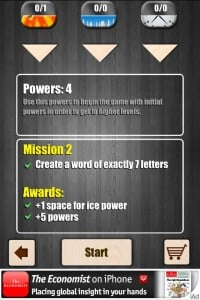 Letris Power: Word puzzle game by Ivanovich Games screenshot