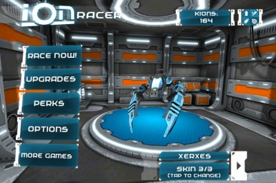 Ion Racer Is A Challenging Futuristic Endless Runner Title On iOS