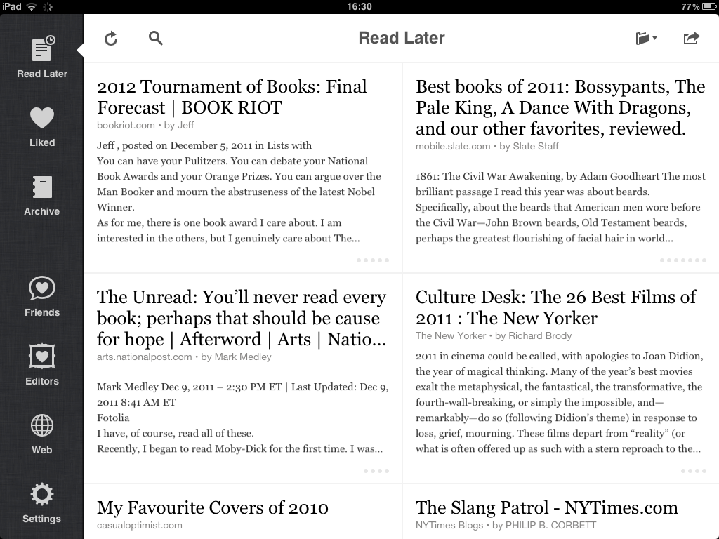 The Cure For Instapaper Syndrome Has Been Found! And It's Just A Click Away