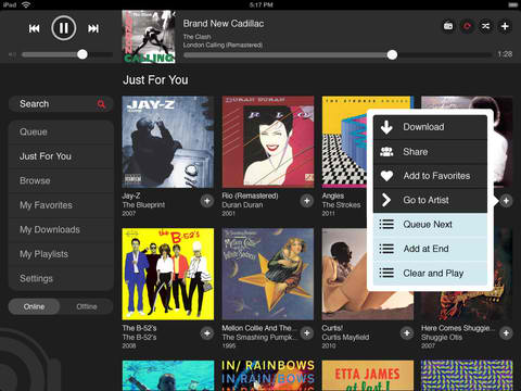 MOG Surpasses Digital Music Service Rival Spotify In Race To iPad