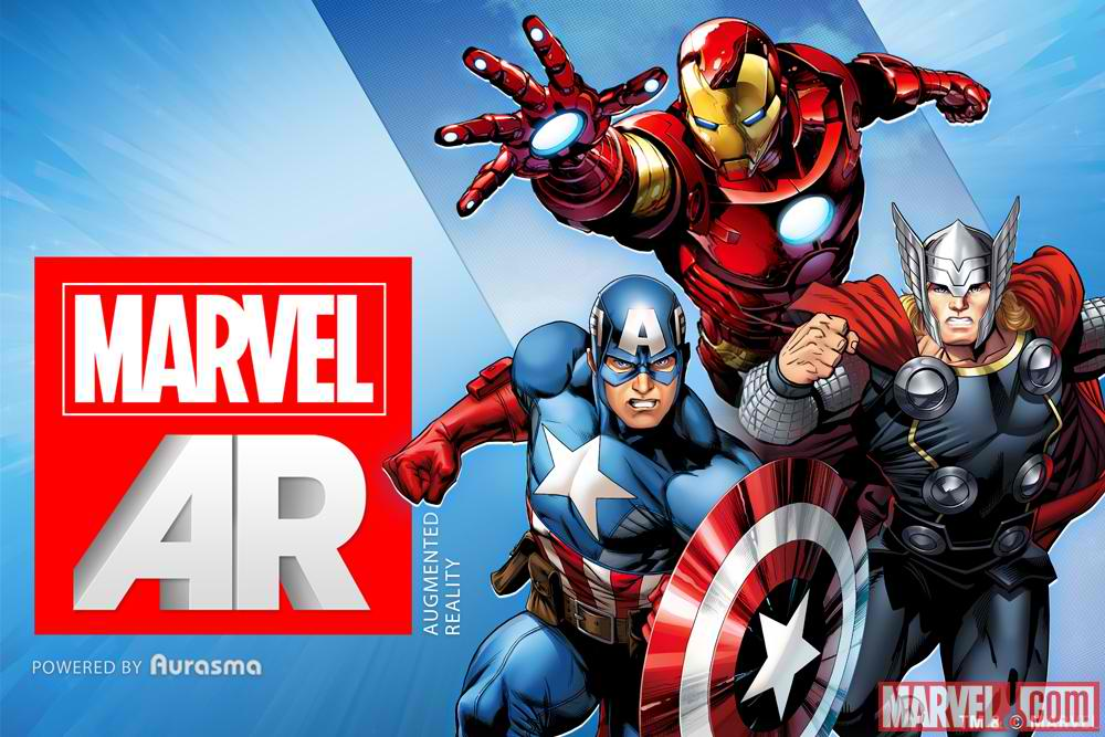 Iron Man Demoes Marvel's New Augmented Reality-Enabled Comic Books