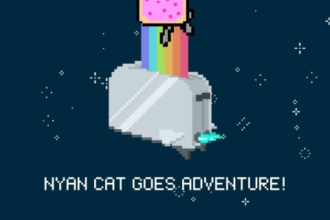 Fly Through Space And Make No Sense With Nyan Cat Adventure