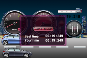 Super Night City Drag Racing by Anton Sinelnikov screenshot
